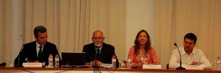 Jordi Corona durante los cursos de formación