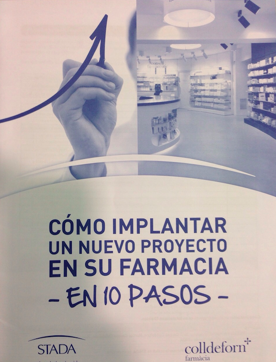 """""""Cómo implantar un nuevo proyecto en su farmacia en 10 pasos"""""""