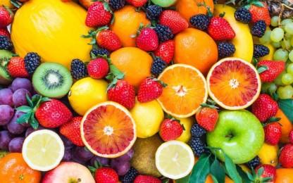 Fruits amb caroté.