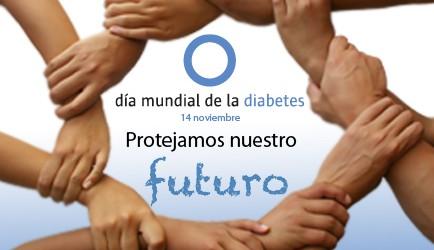 Cartel de concienciación para el Día Mundial de la Diabetes